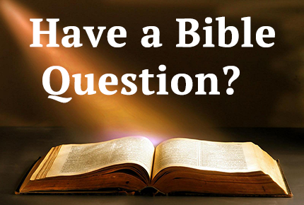 Have a Bible Question?