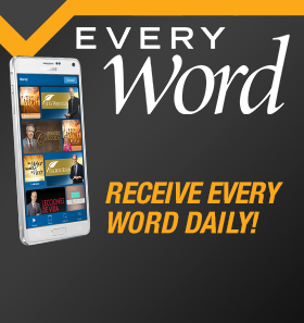 Receive Every Word Daily!