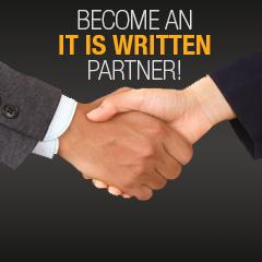 Become an It Is Written Partner