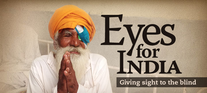 Eyes for India header