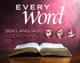 Every Word Sign Language Devotionals