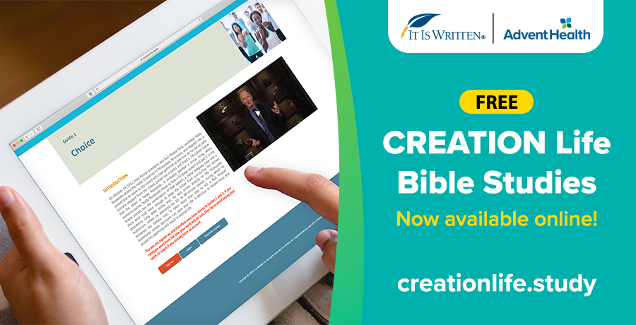 Creation Life Bible Studies available online