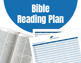 Download our Bible Reading Plan