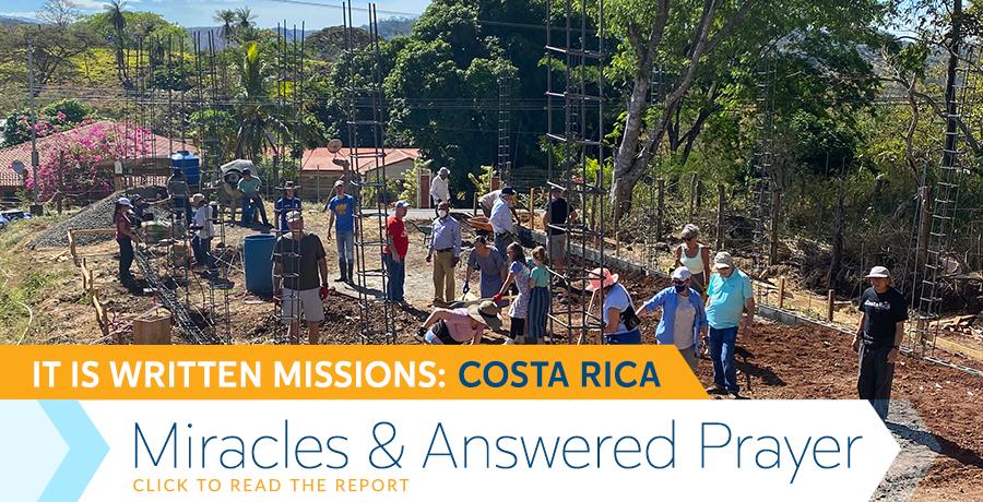 Costa Rica Mission Report
