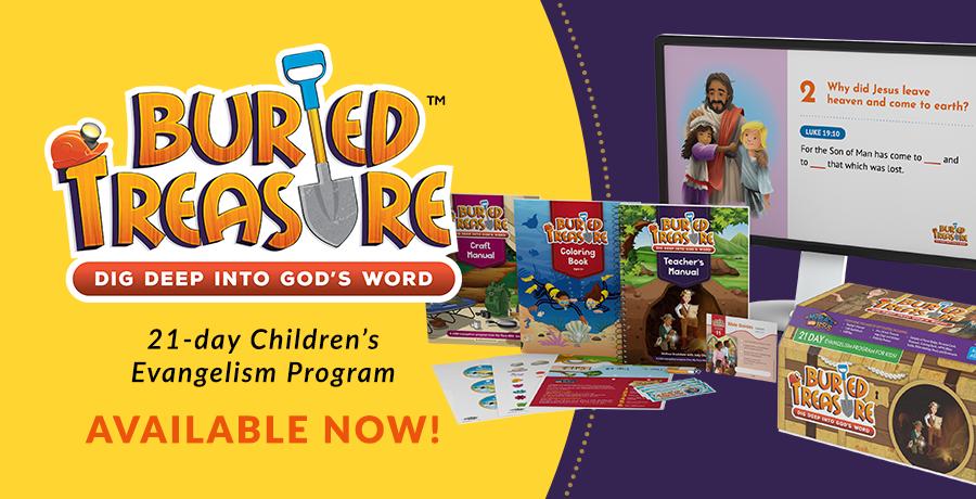 Buried Treasure Children's Evangelism Program Available Now!
