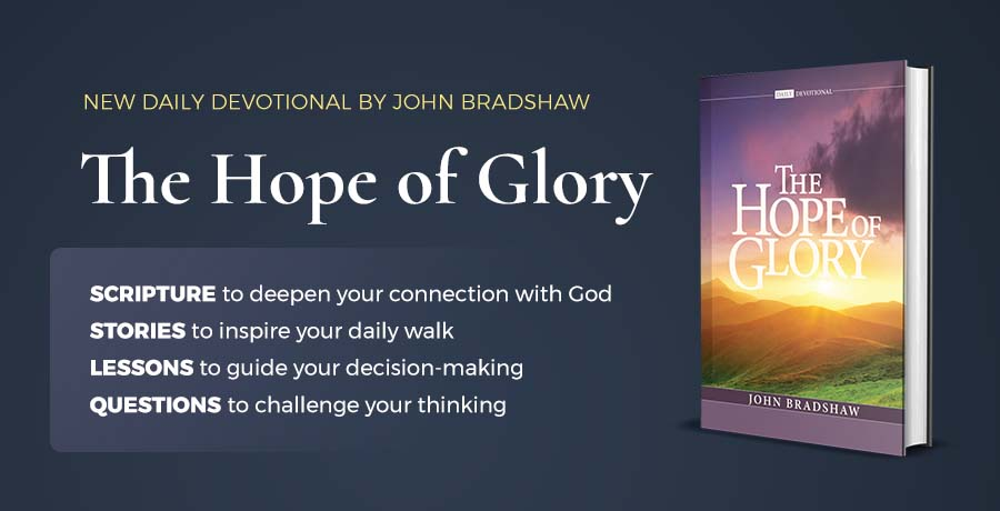 The Hope of Glory devotional available at itiswritten.shop
